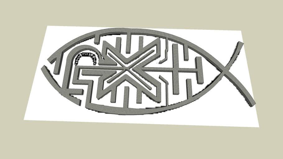 Fish Maze - Sketchup 6.
