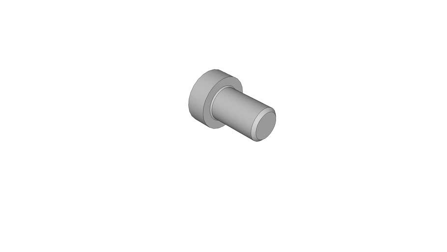 03021413 Hexagon socket head cap screws with low head DIN 7984 M10x16