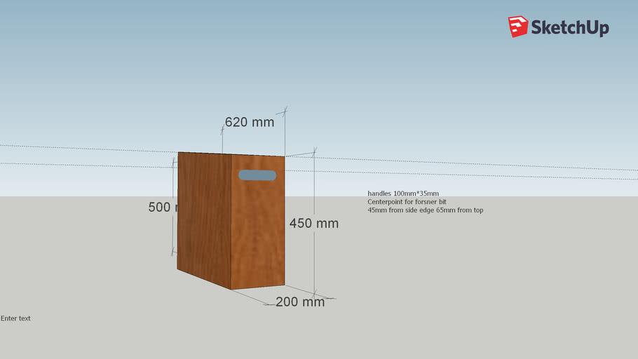 warehouse shelves box