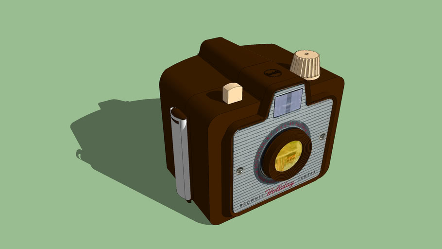 Kodak Brownie Camera 3d Warehouse