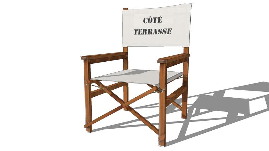 Fauteuil Terrasse,Maisons du monde, 116.406, prix : 49€