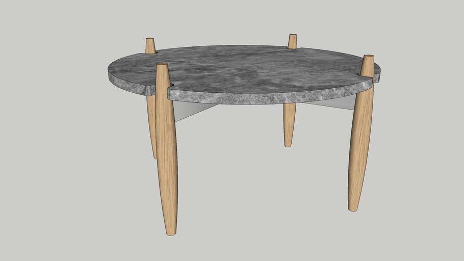 Coffee Table Wilderness Ø80cm