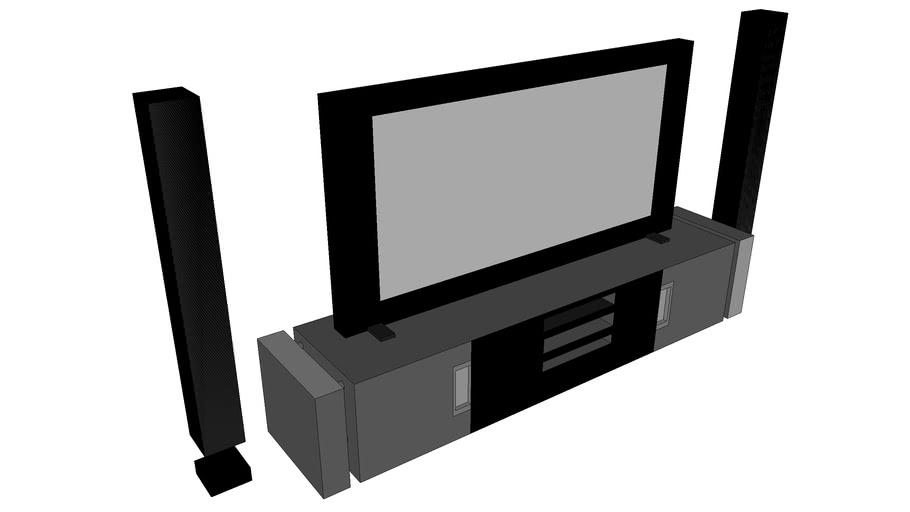 tv télé ecran plat plasma