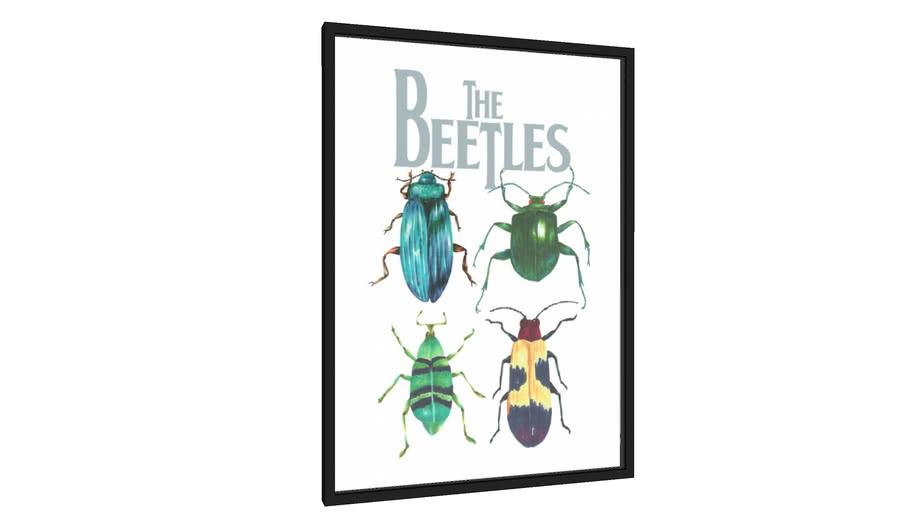 Quadro The Beetles - Galeria9, por Dani Duarte