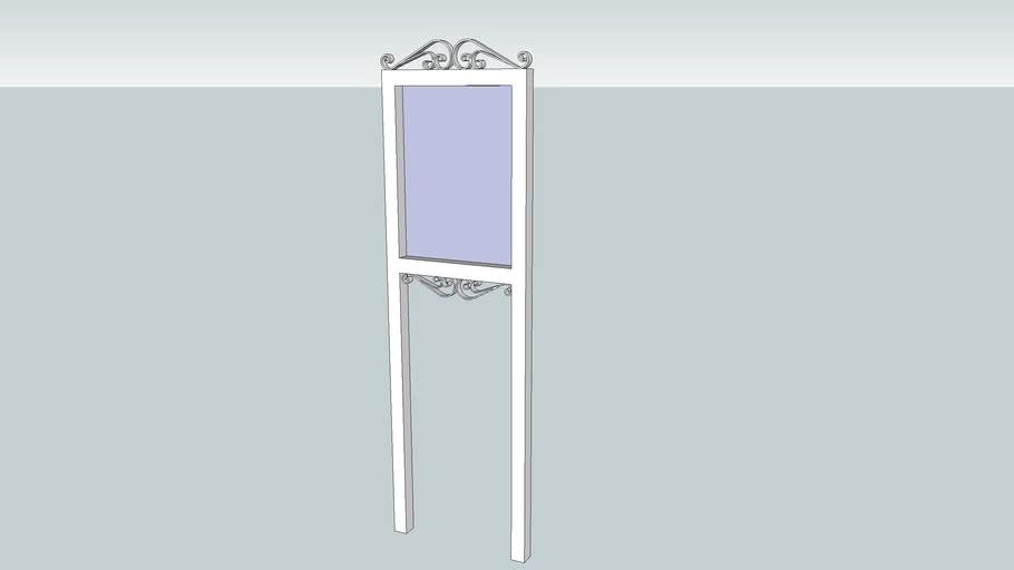 Custom Narrow Post and Panel