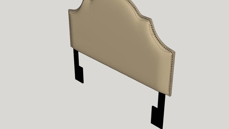 Gismondine Upholstered Panel Headboard