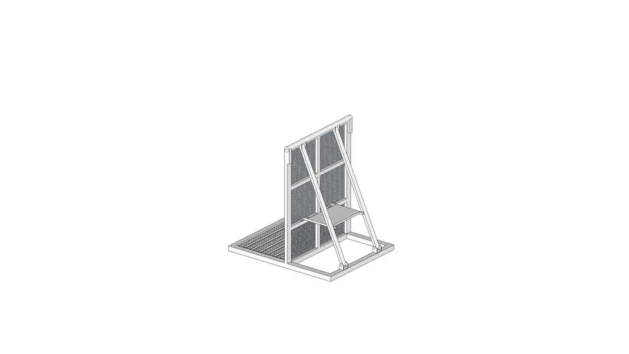 Mojo Aluminium Crowd Barrier - Straight Element