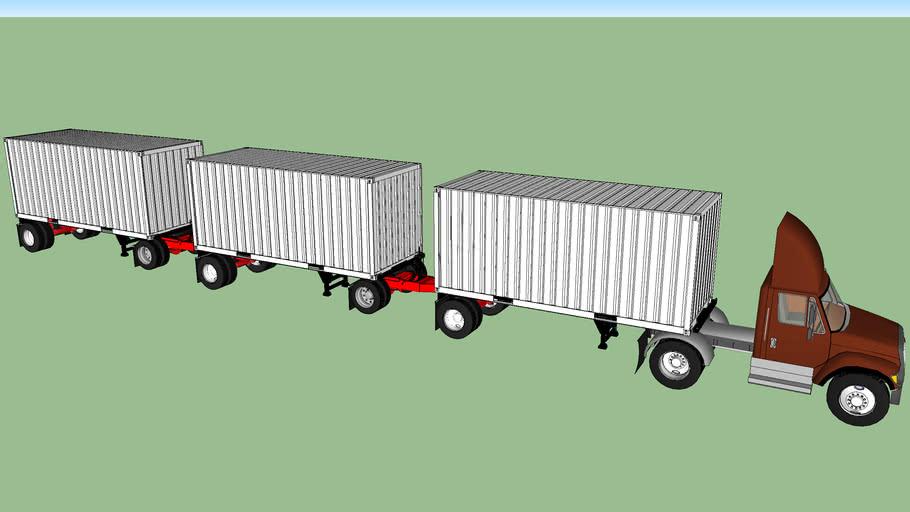 Triple 20's container LCV
