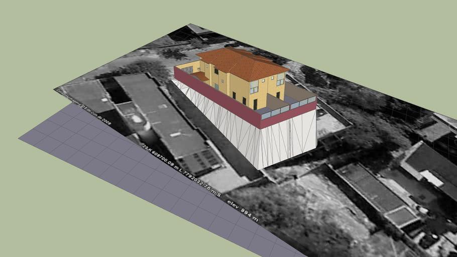 Casas Geminadas, Bairro Santa Lucia