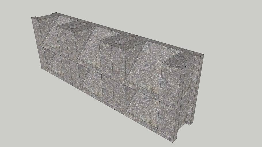 concrete louver