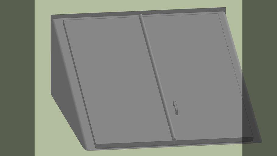 Bilco Basement Door (low poly)