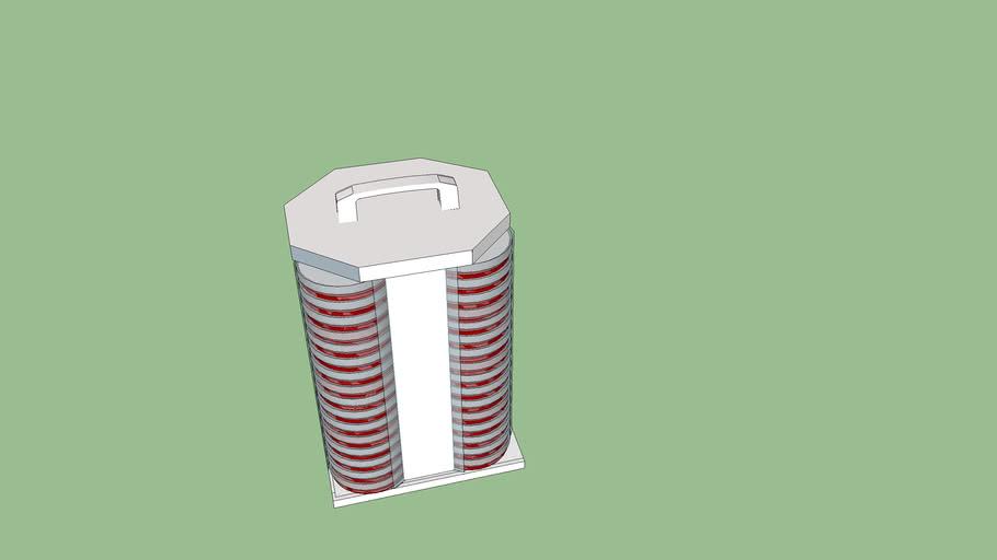 Scienceware® Easyplate petri dish transport carrier