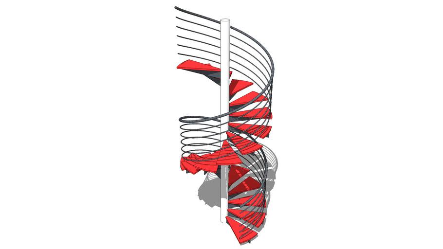 BiMUp 5D - Staircase Balustrade 01
