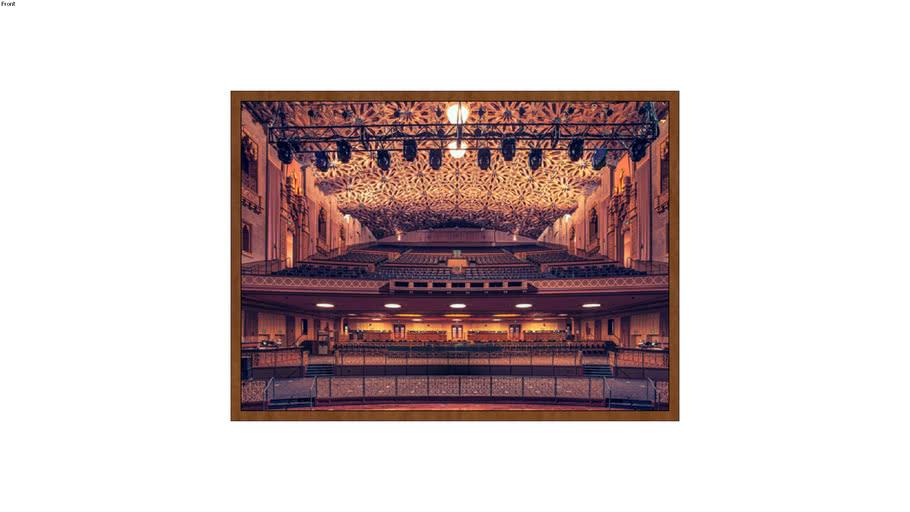 ARTIMAGE - Fox Theater - Oakland, California - 98 x 133 cm