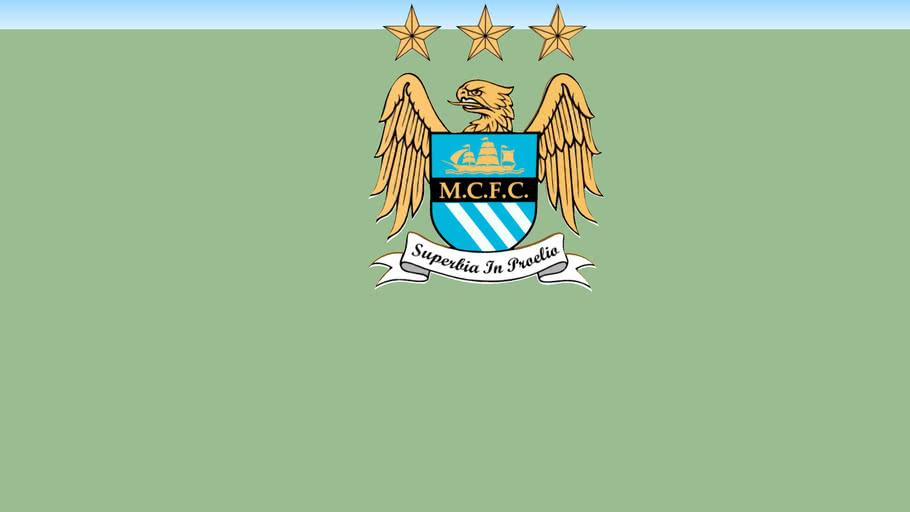 Logo Football Manchester City 3d Warehouse
