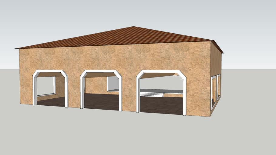 spanish garage
