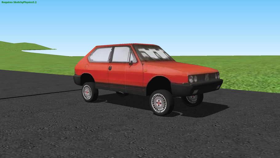 Fiat Ritmo (SketchyPhysics)