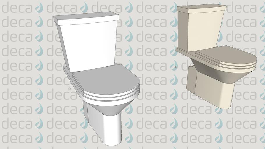 Deca Bacia Sanitaria Duna Código P.707 Caixa Acoplada