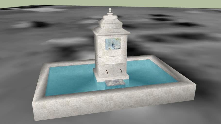Fuente de la entrada de Villamañan