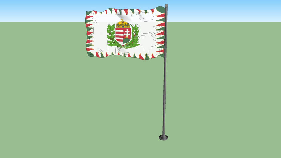 War flag of Hungary