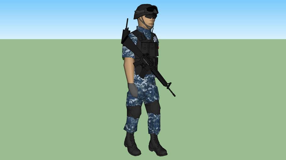 policia municipal de san pedro tlaquepaque jalisco  grupo tactico