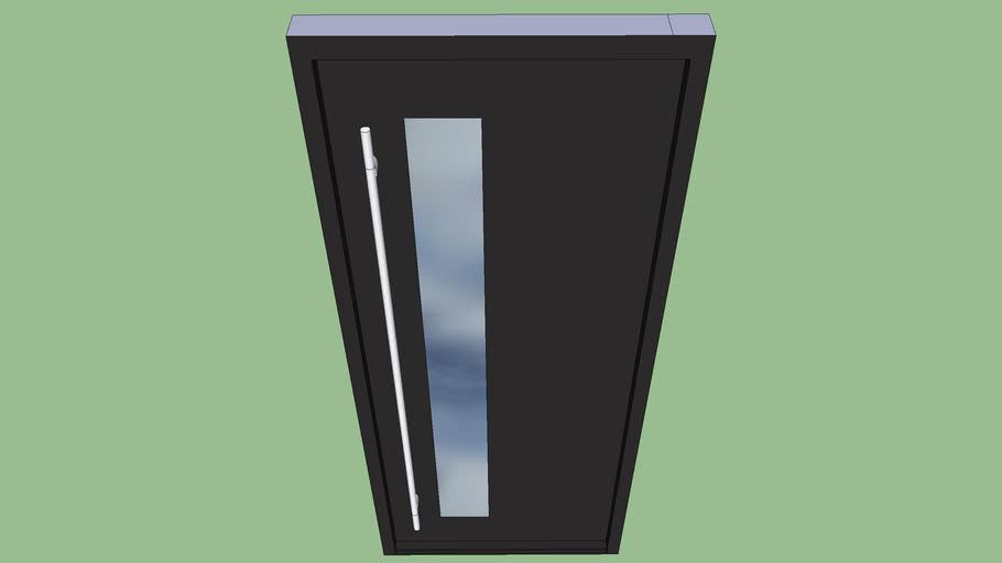 Modern Glass Front Door