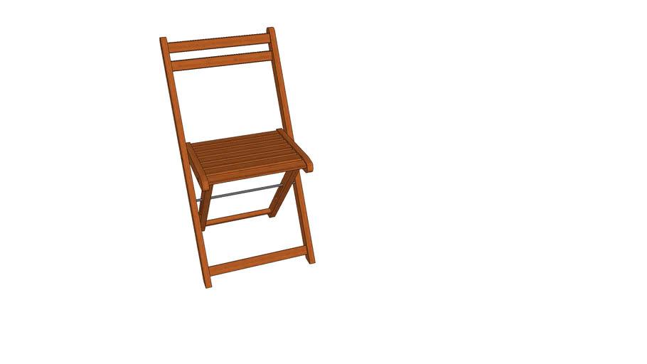 Cadeira Dobrável Naipe