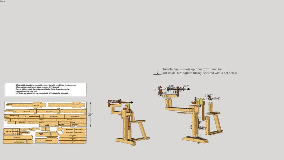 Plywood Chevalet