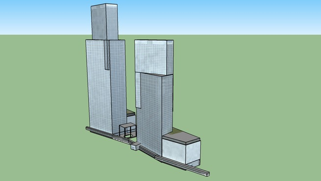臺北A1車站暨C1、D1聯合開發大樓,Taipei A1 Station and C1/D1 Twin Towers