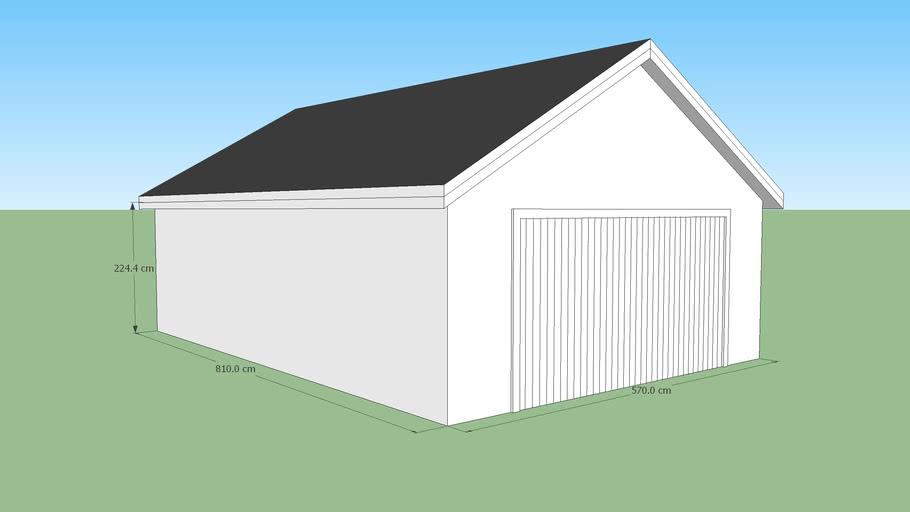 Decochalet-2015 - Double garage 570x810 -30°