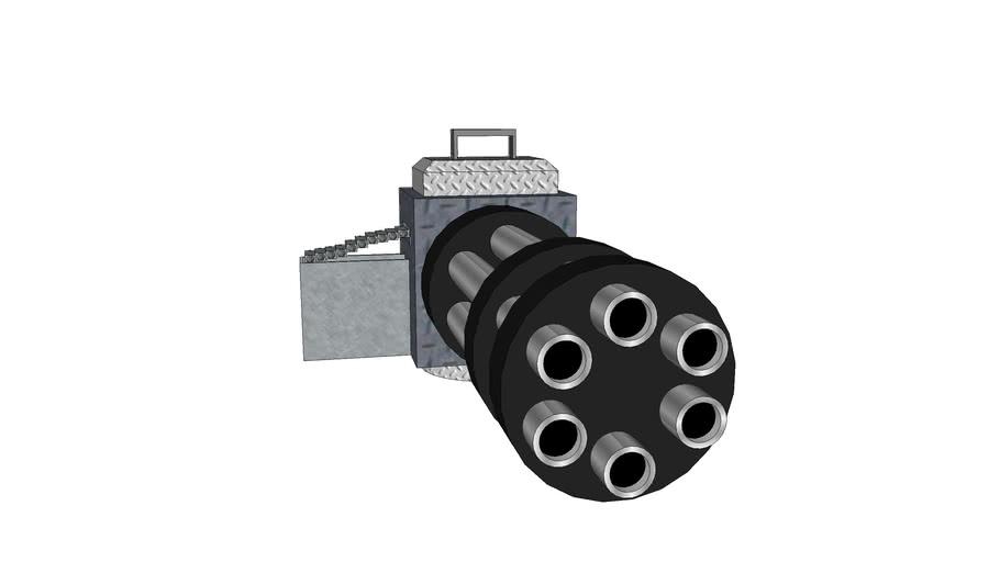 First minigun (small bullets)