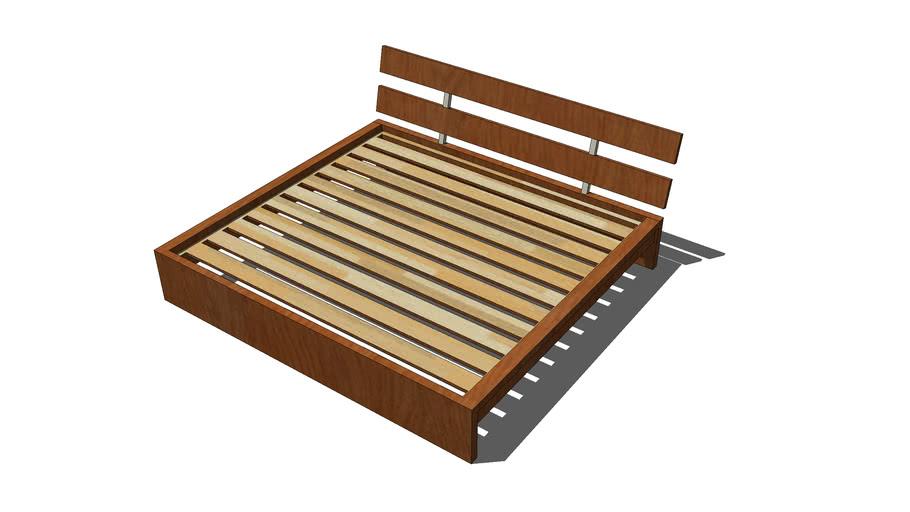 Ikea Hopen Queen Size Bed 3d Warehouse, Ikea Queen Bed