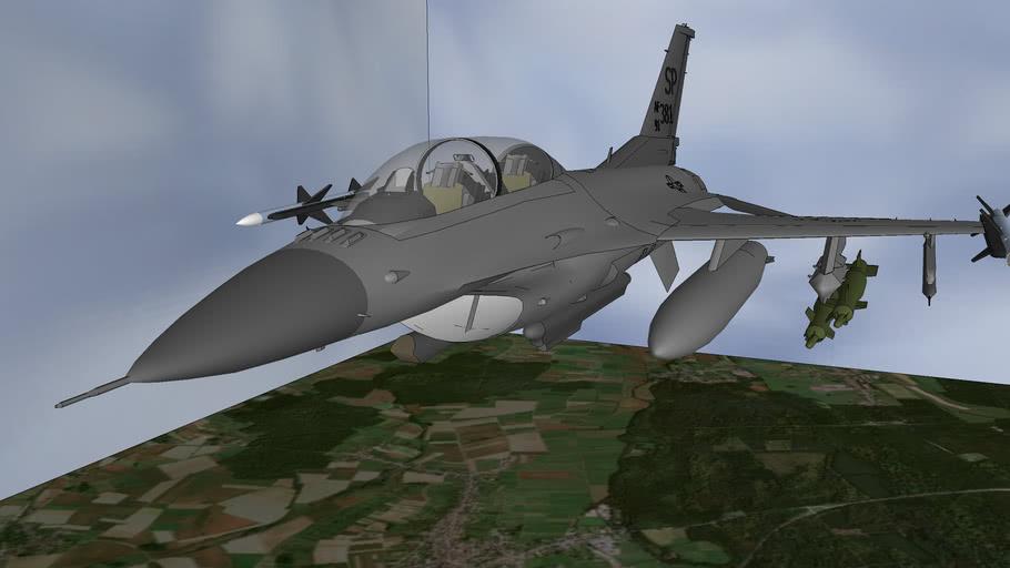 F-16D Viper