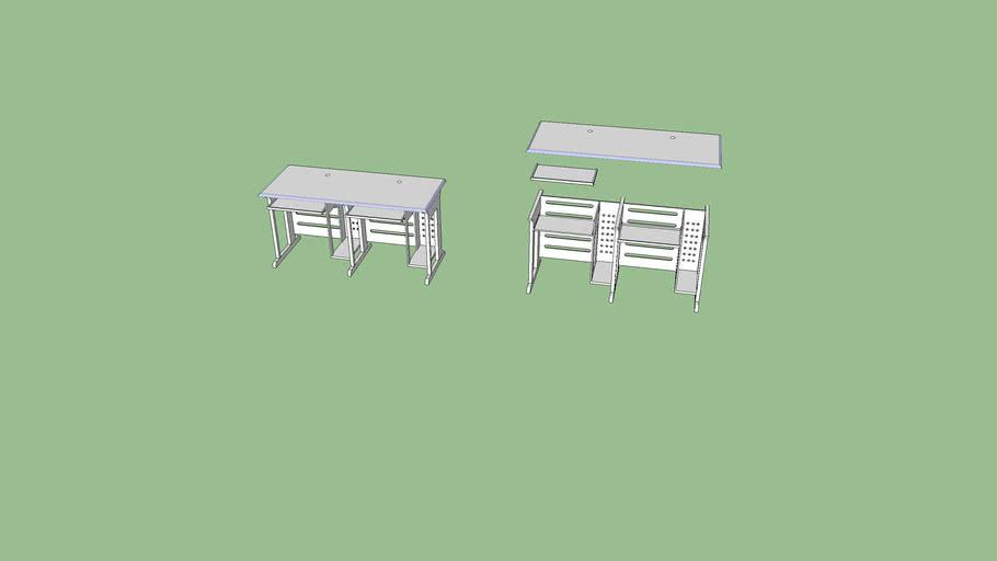 计算机教室用微机桌