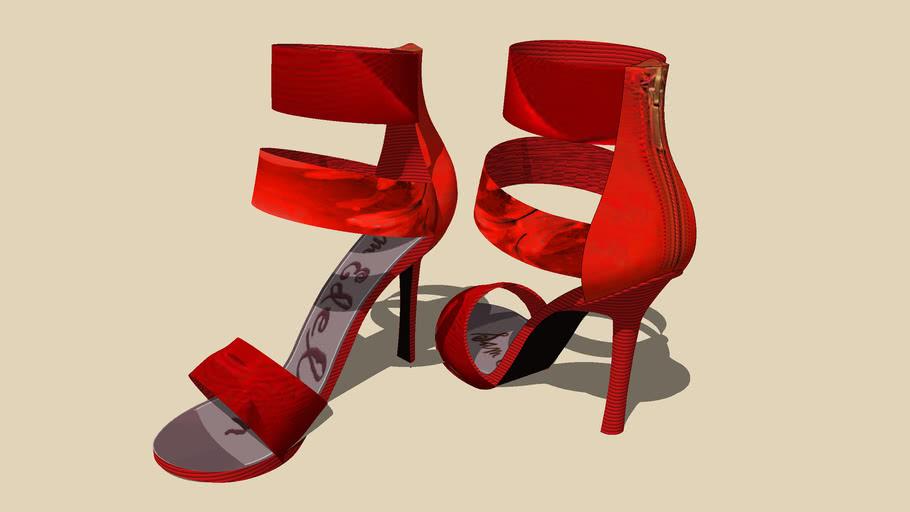 """""""SAM EDELMAN""""... Zip Fastener... Heel's...5 of 5 Colours...."""