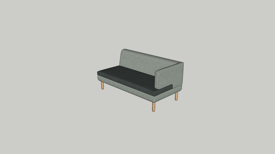 Logan corner end sofa 160 W