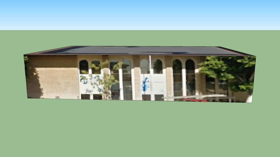 Edificio en Los Ángeles, California, EEUU