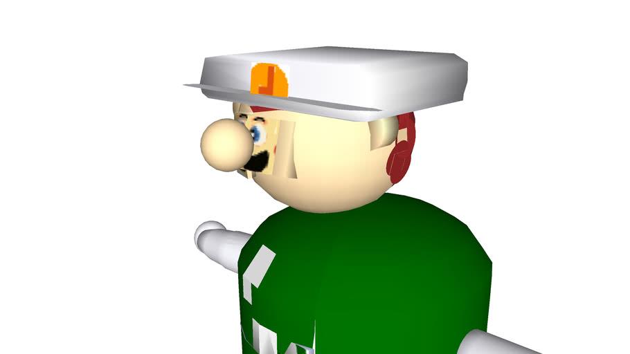 Super Smash Brothers Luigi