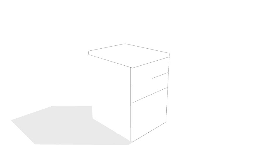Perf File Cabinet by Gus* Modern