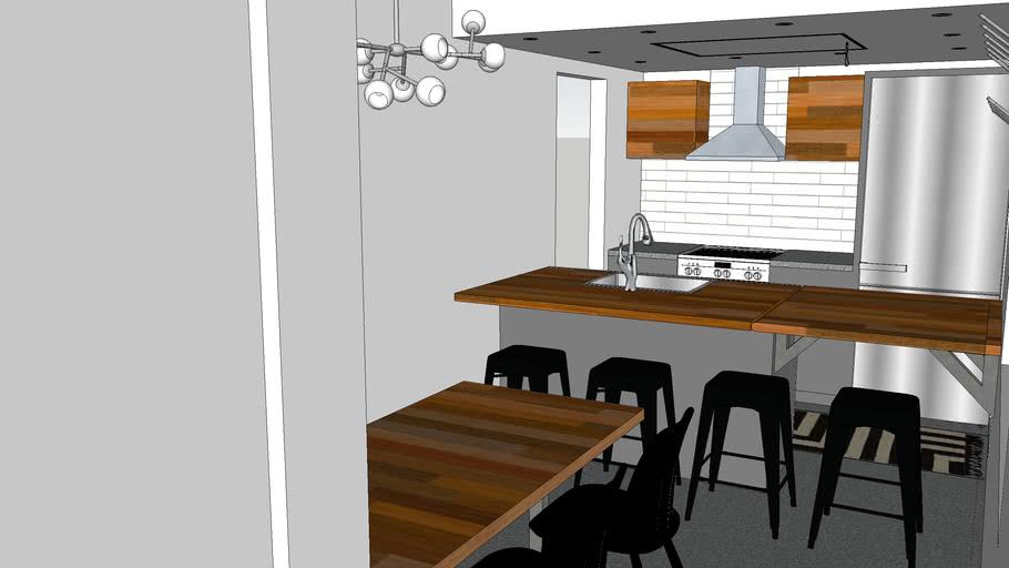 A Restaurant Tiny House
