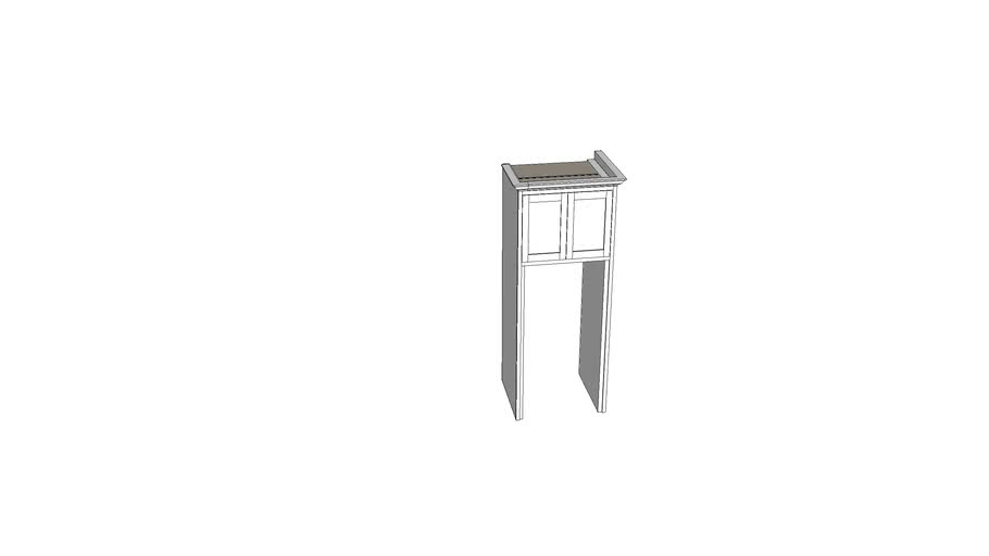 refrigerator cabinetry