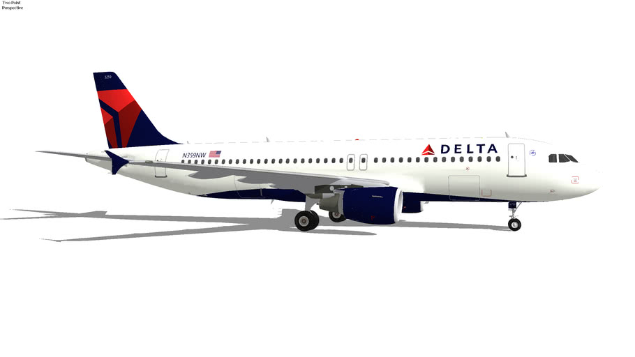 Delta Airlines Airbus A320-212 (2020) N359NW