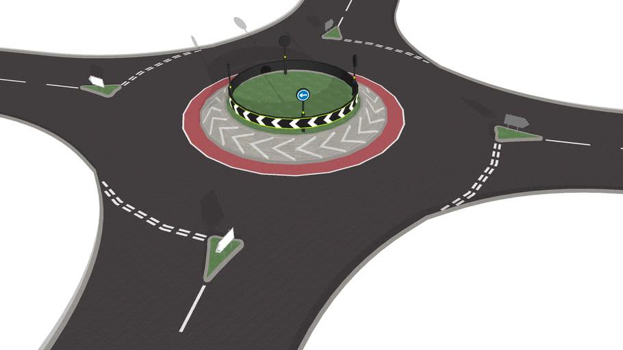 4 Way Roundabout