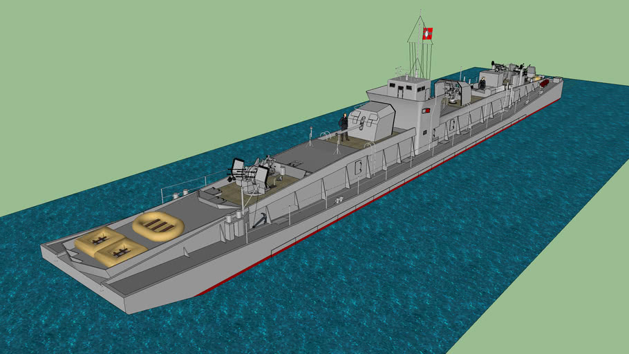 Artilleriefahrprahm Type AF A C3