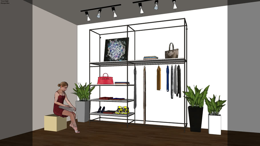 Clothes Shelve - By Zoe