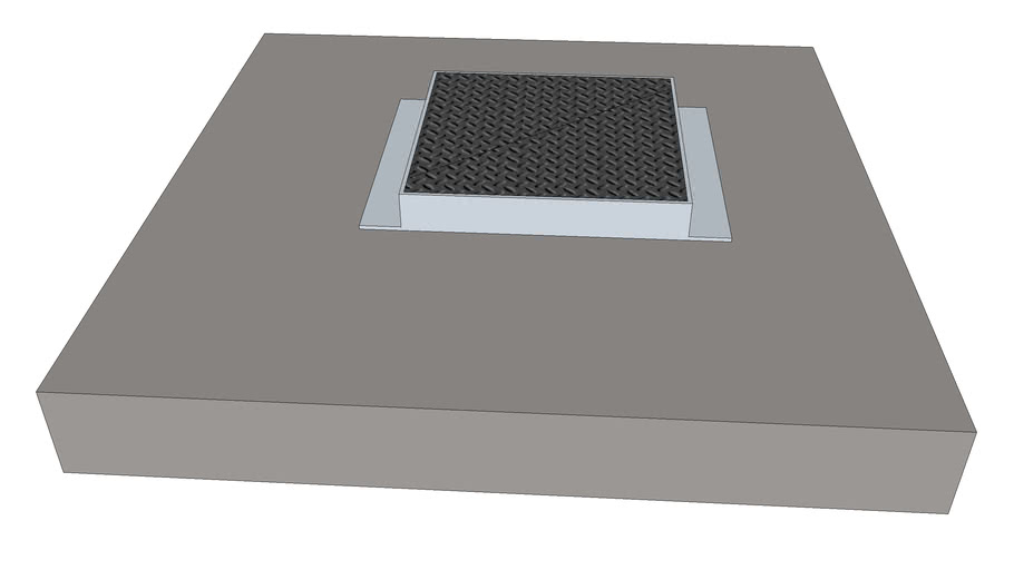 Fermeture CT 1200 x 1200 fonte D400 L1C