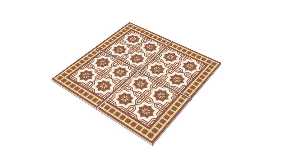 Podłogi kafle / Floors ( tiles, mosaics etc).