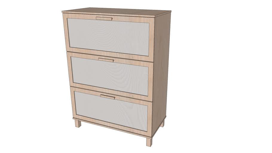 Ikea Dresser Aneboda Warehouse