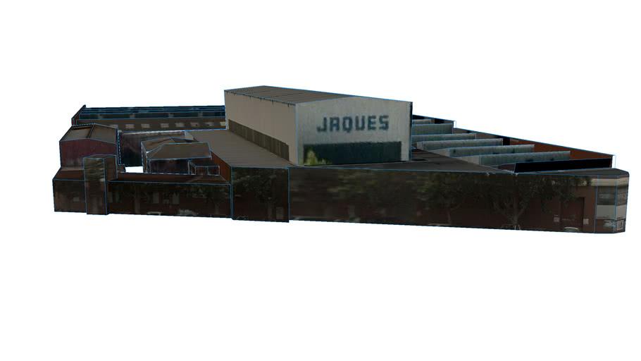 Jaques Warehouse Building in Victoria 3121, Australia
