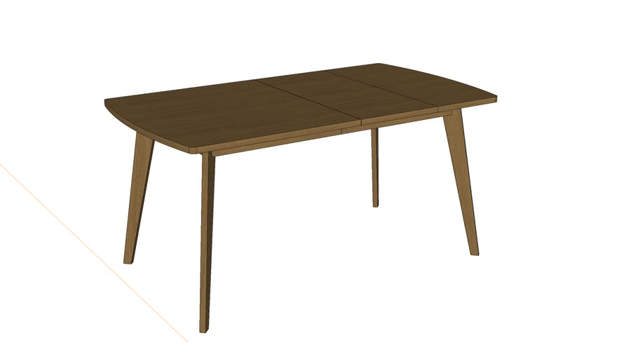 Table Woodman Kensal - folding 160x90